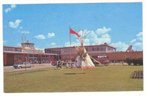 Airport exterior , Calgary , Alberta , Canada , 40-60s