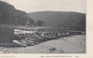 DELAWARE WATER GAP , Pennsylvania, 00-10s ; Boat Landing