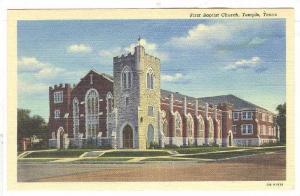 First Baptist Church, Temple, Texas, 1930-1940s