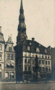 Latvia - Riga - RPPC 1920 04.17