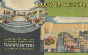 OKLAHOMA CITY , 1930-40s : Boulevard Cafeteria