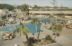 BILOXI, Mississippi, 1940-1960´s; The Buena Vista Beach Motel And Hotel, Swi...