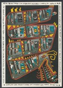 Artist Postcard - Prison Dragon Poster Design By Henry Iles   RR2707
