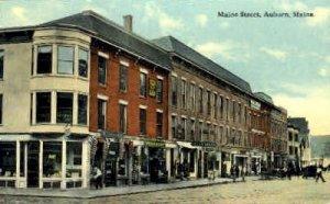 Maine St. in Auburn, Maine