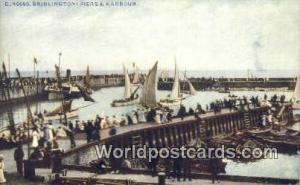 United Kingdom, UK, England, Great Britain Piers & Harbour Bridlington Bridli...