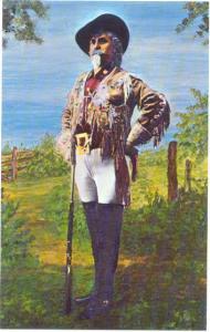 Col. William Frederick Cody, Buffalo Bill Picture, Chrome