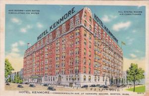 Massachusetts Boston Hotel Kenmore
