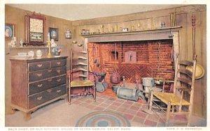 Back Shop or Old Kitchen Salem, Massachusetts Postcard