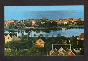 Netherlands Antilles View Willemstad Curacao Postcard Carte Postale