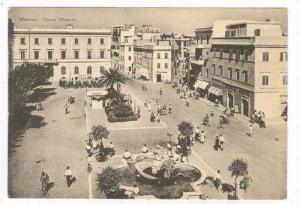Nettuno, Rome, Lazio, Italy, 30-40s, Piazza Mazzini