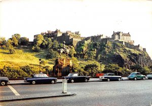 Edinburgh Castle form Princes Street Scotland, UK 1973
