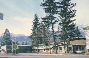 Exterior,  The Art Motel,  Golden,  B.C.,  Canada,  40-60s