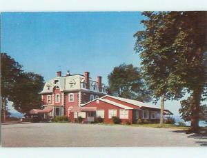 Unused Pre-1980 DUTCHESS MANOR HOTEL Beacon - Cold Springs New York NY Q4756