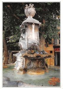 France Aix en Provence, La Fontaine Pascal, Cours Sextius Fountain