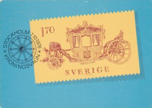 Stamps Of Sweden 1978 Issue