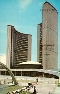 Canada Toronto New City Hall and Nathan Phillips Square 1967