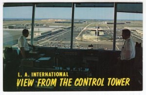 L. A. International View From The Control Tower