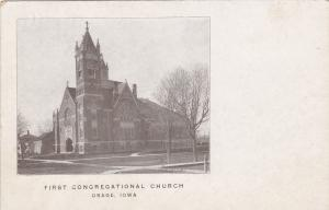 OSAGE, Iowa, 1900-1910's; First Congregational Church