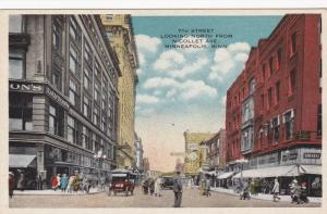 MINNEAPOLIS , Minnesota , 00-10s ; 7th St., Looking North from Nicollet Avenue