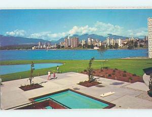 Unused Pre-1980 PANORAMIC VIEW Vancouver British Columbia BC hp3555