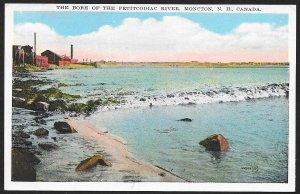 Tidal Bore Of The Petitcodiac River Moncton CANADA Unused c1920s