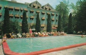 SHARON SPRINGS, New York, 50-60s; Hotel Columbia, Swimming Pool