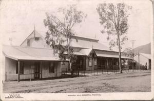 south africa, BARBERTON TRANSVAAL, Municipal Hall (1909) RPPC