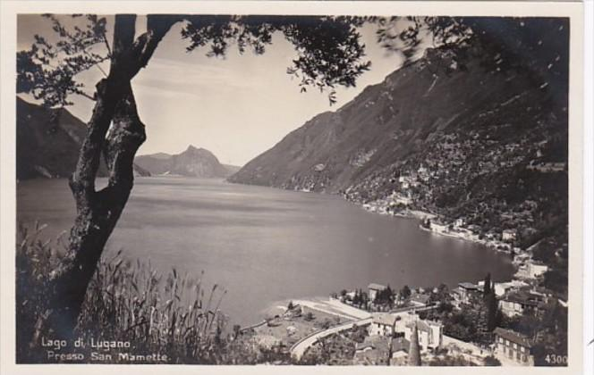 Switzerland Lago di Lugano Presso Sam Mamette Photo
