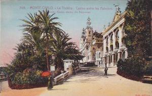 MONTE-CARLO, Le Theatre, Casino entre les Palmiers, Monaco, 00-10s