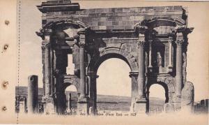 TIMGAD, Arc de Trajan (Face Est), Algeria, 10-20s