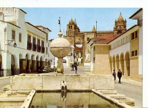 Postal 029486 : Evora (Portugal) Fountain of Moures Gate (XVI century)