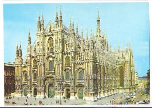 Italy Milan Il Duomo Cathedral 4X6 Postcard