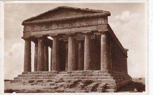 Italy Agrigento Tempio della Concordia Real Photo