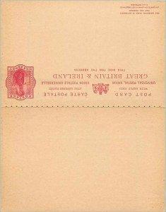 Entier Postal Stationery 1p