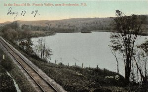 br105534 beautiful st francis valley sherbrooke  canada quebec