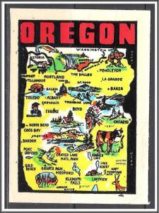 Oregon Decal Unused