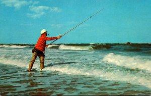 Fishing Surf Fishing Along The Atlantic