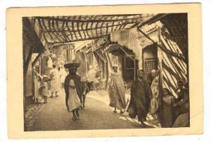Maroc , Dans le Souks , PU-1941