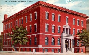 Utah Salt Lake City Y M C A Building 1946