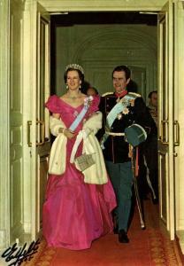 denmark, Queen Margrethe II & Prince Consort Henrik (1970s)