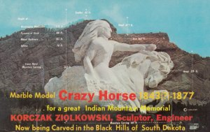 BLACK HILLS , South Dakota , 1950-60s ; Crazy Horse Monument