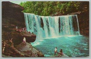 Corbin Kentucky~Cumberland Falls Cumberland Falls Park~Vintage Postcard