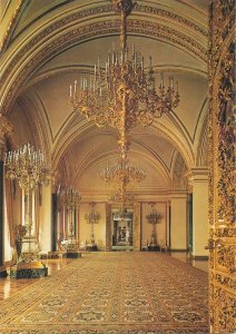 Russia the moscow kremlin palace st catherine hall Postcard