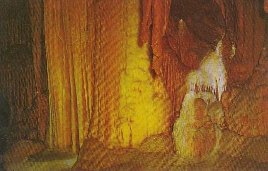 Diamond Cascade Shenandoah Caverns Virginia