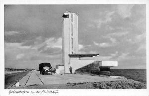 Netherlands Rijksweg Gedenkteken op de Afsluitdijk, auto, car, truck