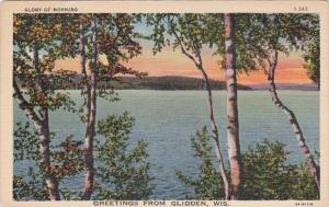 Wisconsin Greetings From Glidden 1942