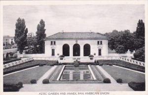 Washington DC Harrington Hotel Aztec Garden And Annex Pan American Union