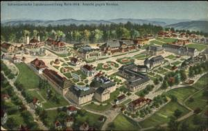 Bern Switzerland Schweizerische Landesausstellung 1914 Postcard