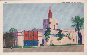 Illinois Chicago 1933 World Fair The Hall Of Religion 1933