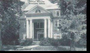 Indiana Greencastle Sigma Chi House De Pauw University Albertype